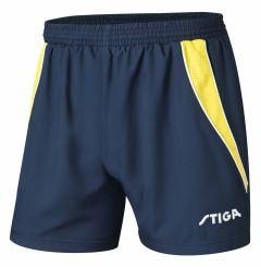 Stiga Shorts Columbia Navy/Yellow
