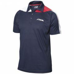 Stiga Shirt Pacific Navy/Red/White