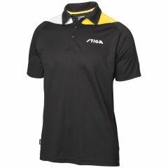 Stiga Shirt Pacific Black/Yellow/White