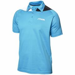 Stiga Shirt Pacific Vivid Blue/Black/White