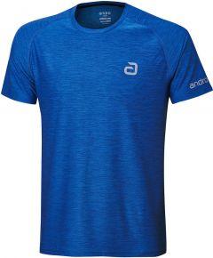 Andro T-Shirt Melange Alpha Blue