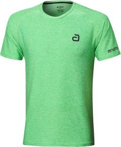 Andro T-Shirt Melange Alpha Green