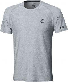 Andro T-Shirt Melange Alpha Grey
