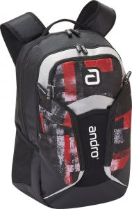 Andro Backpack Fraser Red/Black