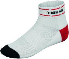 Tibhar Socks Classic White/Red/Black