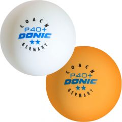 Donic Balls Coach P40+**