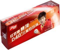 DHS D40+ 3*** ITTF 10 Balls (seam)