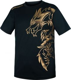 Donic T-Shirt Dragon Black/Gold