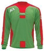 Dsports maillot Cup Vert / Rouge