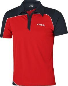 Stiga Shirt Odyssey Red/Navy