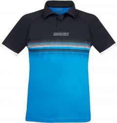 Donic Shirt Draft Black/DivaBlue