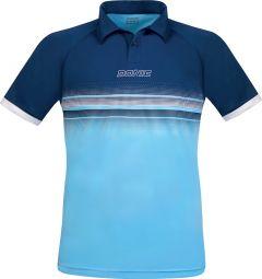 Donic Shirt Draft Navy/Light Blue