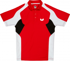 Butterfly Polo Shiro Red