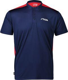 Stiga Shirt Club Navy/Red