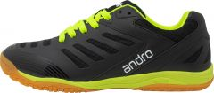 Andro Shoes Cross Step Black/Fluo Yellow