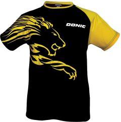 Donic T-Shirt Lion Black/Yellow