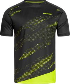 Donic T-Shirt Mirage Black/Fluo Yellow