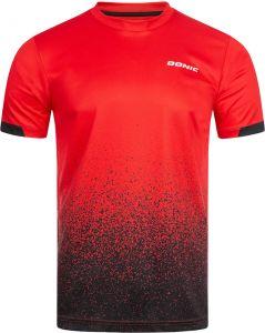Donic T-Shirt Split Red/Black