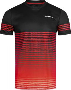 Donic T-Shirt Tropic Black/Red