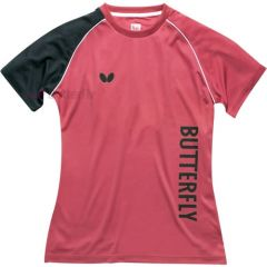 Butterfly T-shirt Aino Lady Pink