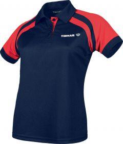 Tibhar Shirt World Lady Navy/Red